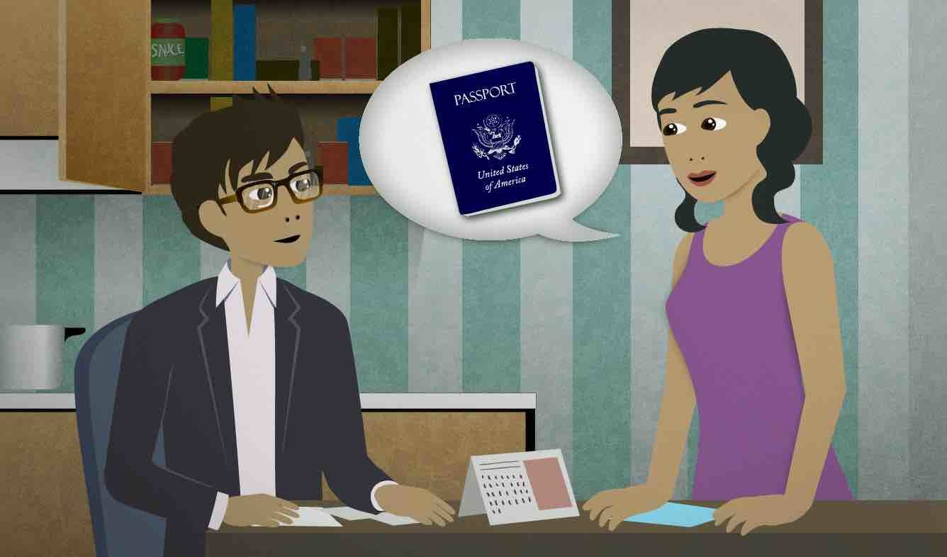English Lesson: Oh yeah: when does your passport expire?