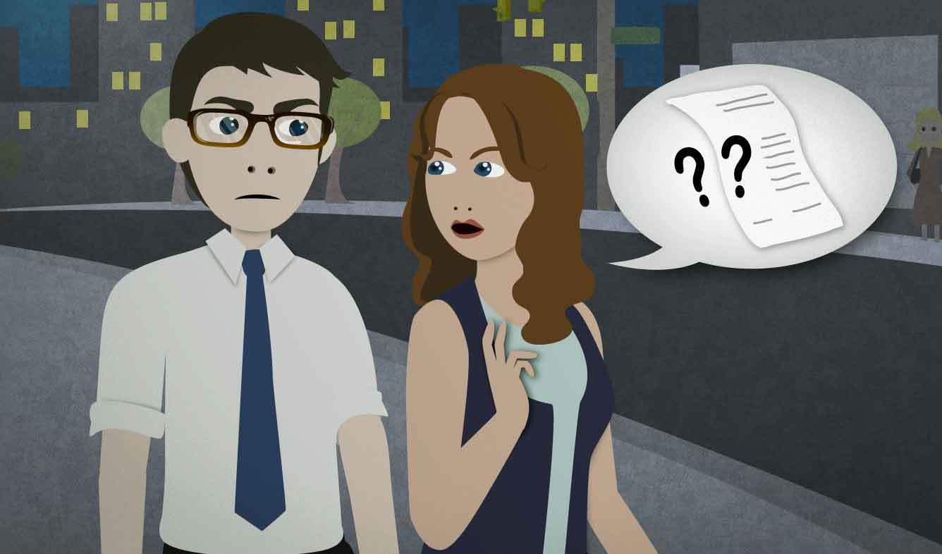English Lesson: By the way, how much did you leave him?