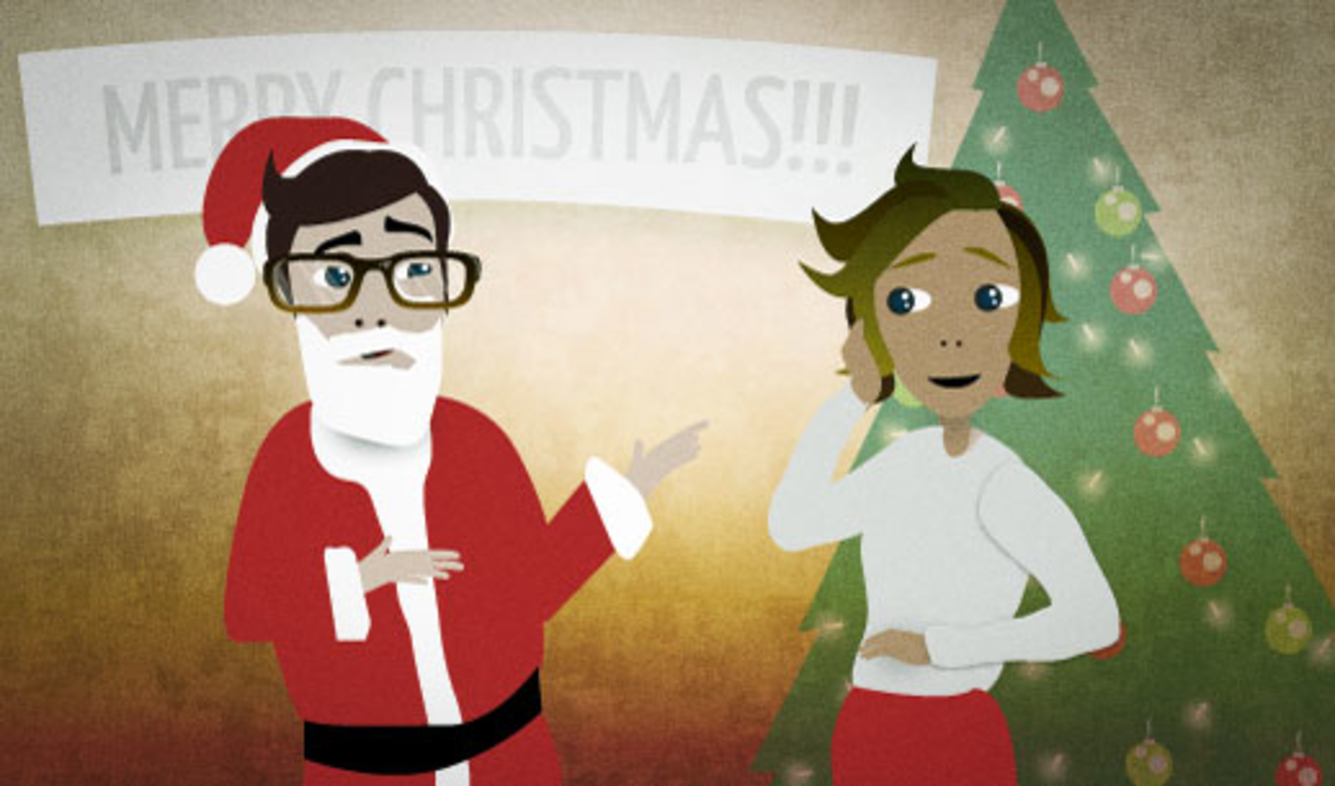 English Lesson: Have you been naughty or nice this year?
